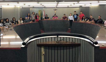 Estudantes do Curso de Direito visitam Tribunal de Justiça