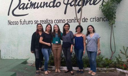 Acadêmicas de Psicologia da FAS realizam visita técnica à ONG