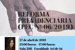 REFORMA PREVIDENCIÁRIA (PEC Nº 06_2019)