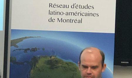 Professor Alex Mourão apresenta artigo no Canadá